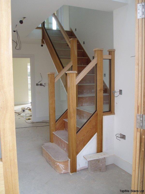 Glass Balustrade Staircase Gallery - Topflite Stairs Ltd