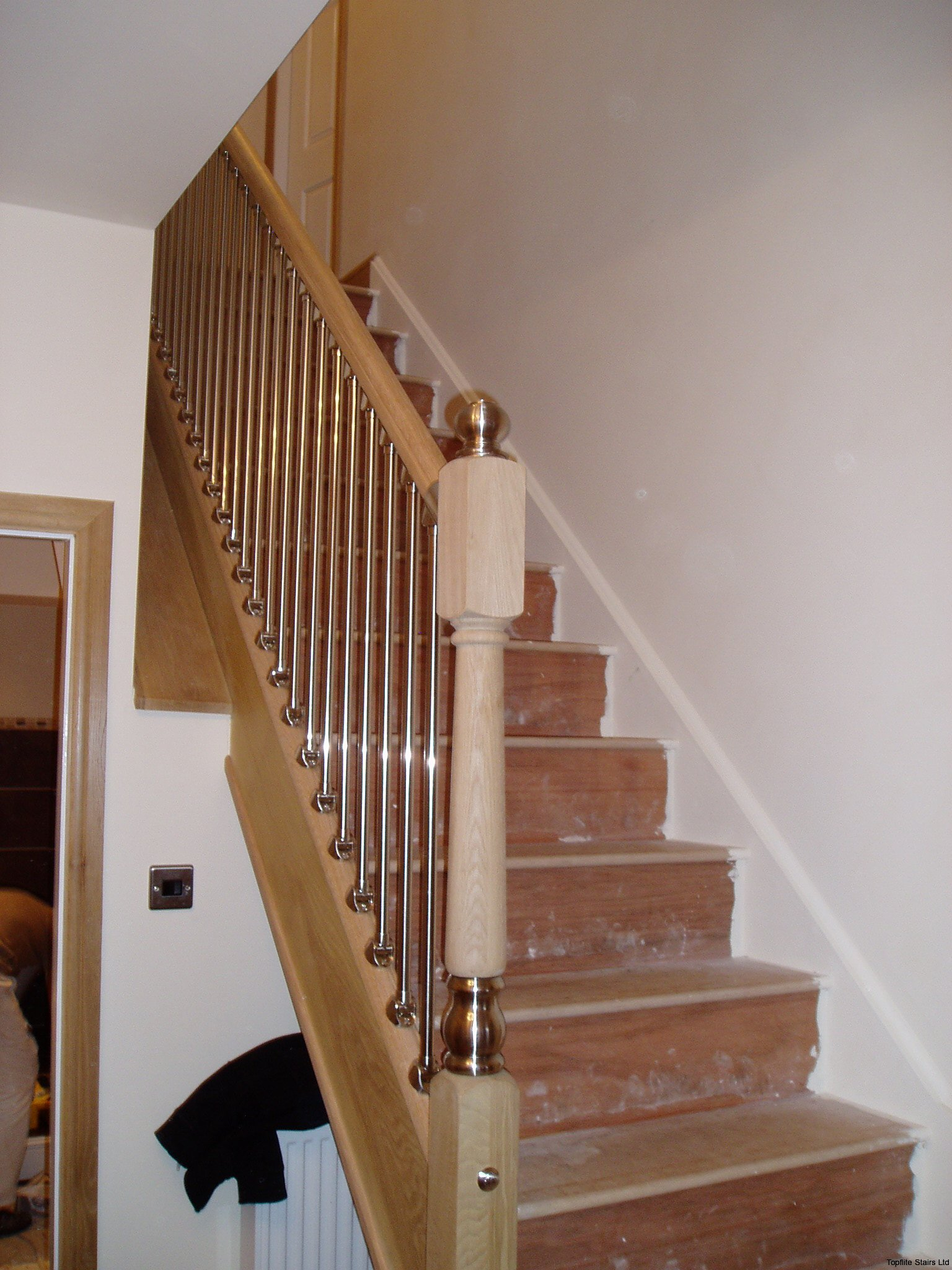 Metal Balustrade Staircase Gallery - Topflite Stairs Ltd