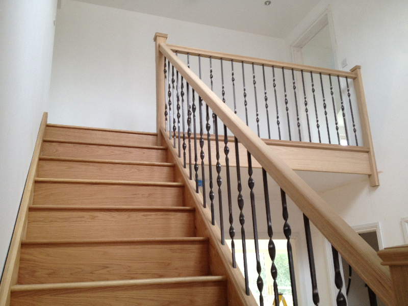Metal Balustrade Staircase Gallery Topflite Stairs Ltd