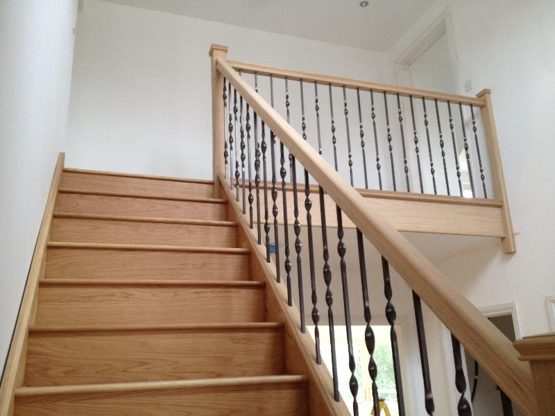 Metal Balustrade Staircase Gallery Topflite Stairs Ltd
