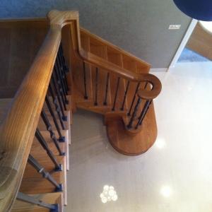 Hemlock Staircase- Cut String