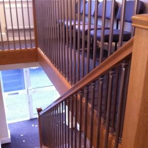 Oak Staircase- Carpet Grade