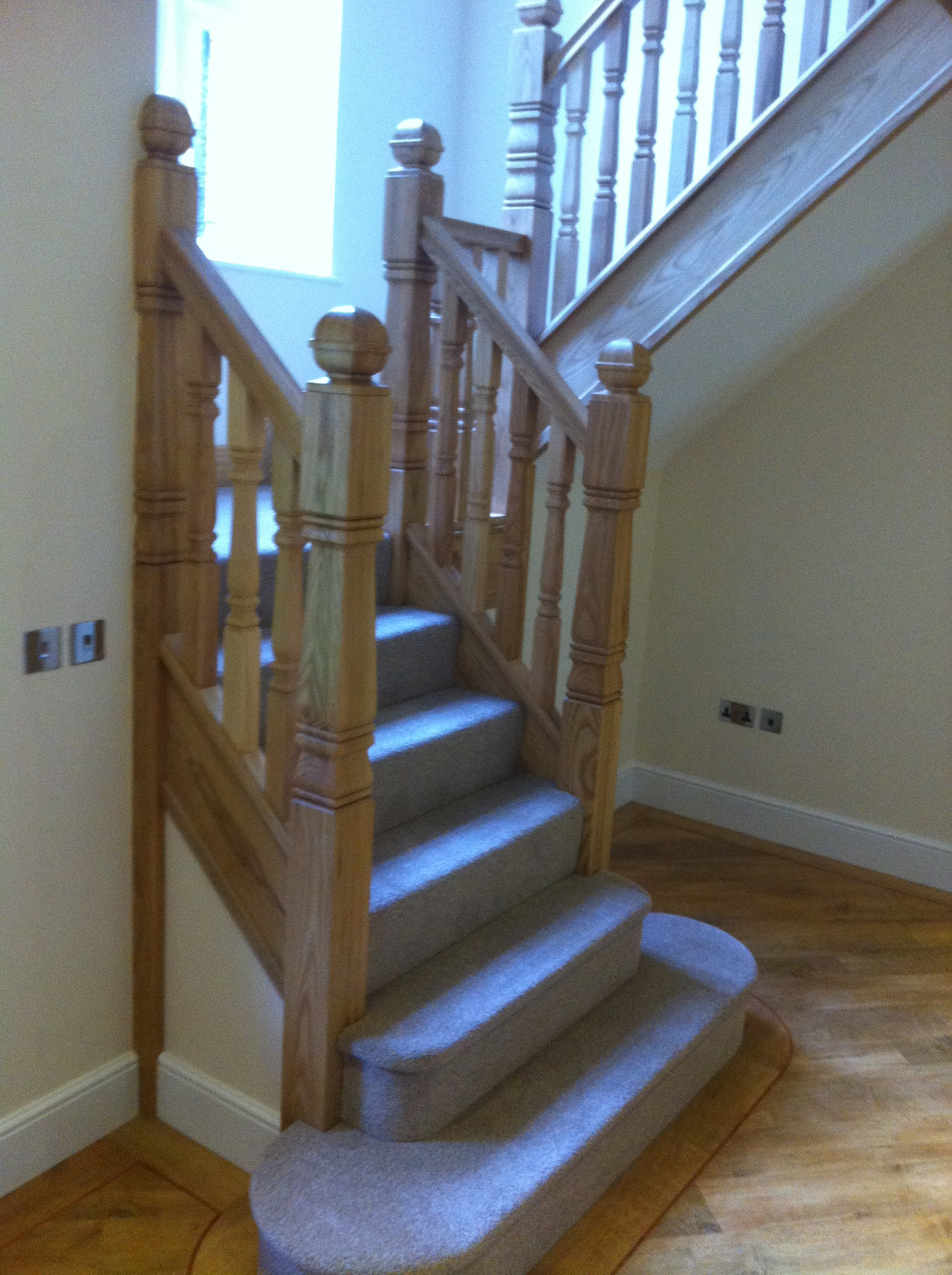 Timber Balustrade Staircase Gallery Topflite Stairs Ltd
