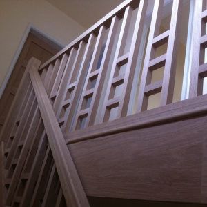 Solid Oak Stairs