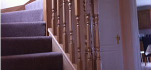 Timber staircases custom made in Cannock for delivery across the UK