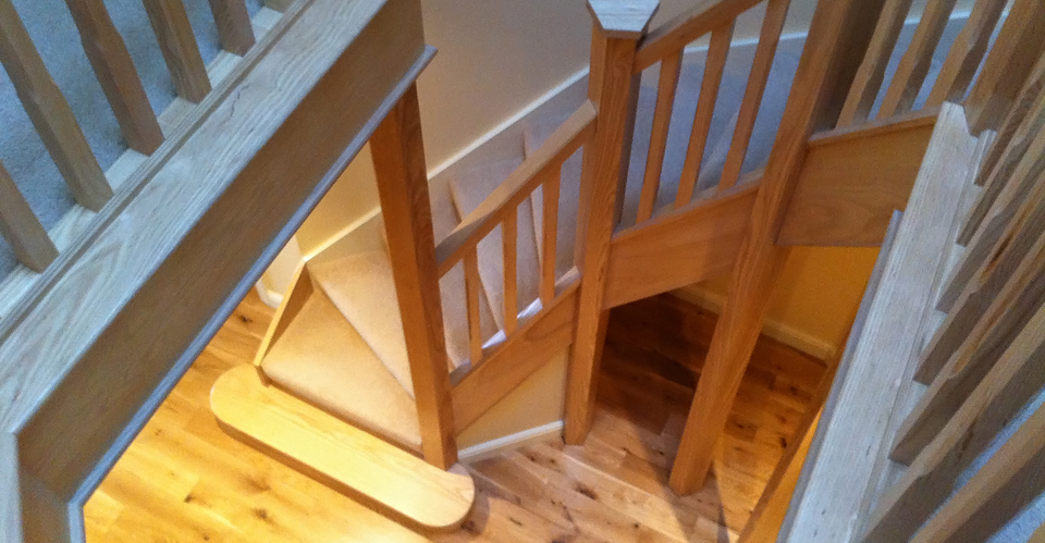 Topflite design, deliver and build custom staircases throughout the UK.